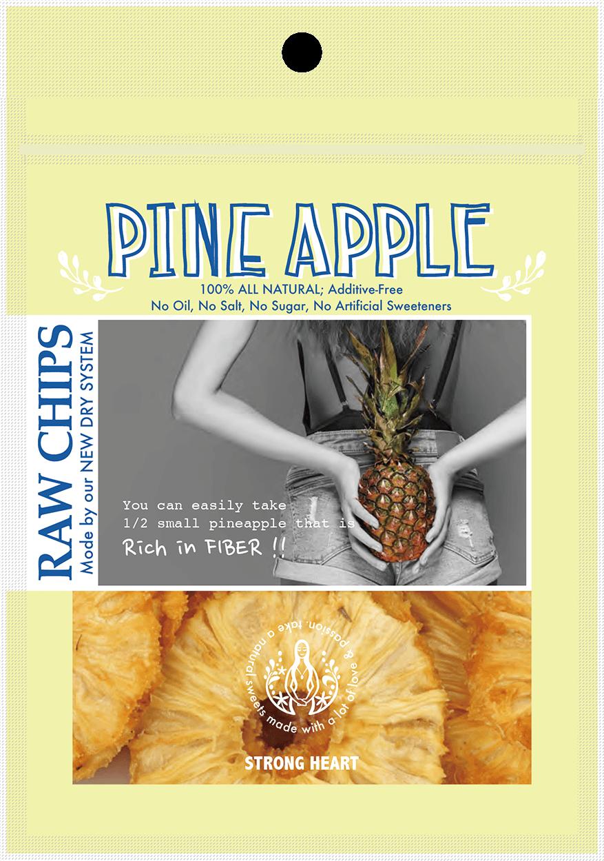 RAW CHIPS パイナップル商品写真